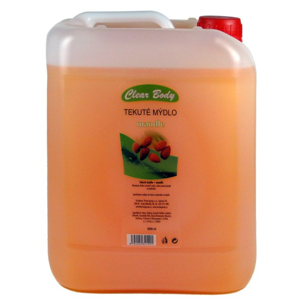 Clear body tekuté mýdlo green tea and orange 5 l